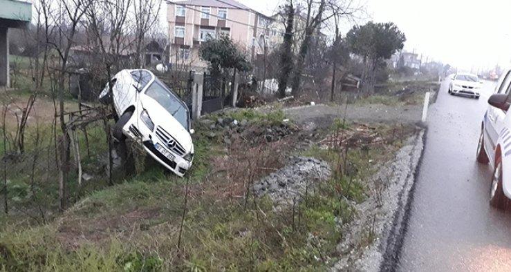 AK Parti ilçe başkanlarının içinde bulunduğu araç kaza yaptı: 2 yaralı