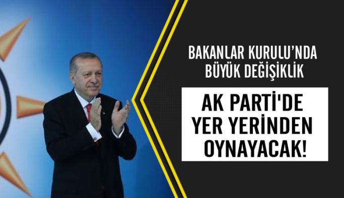 AK Parti ve bakanlıklarda büyük değişiklik geliyor