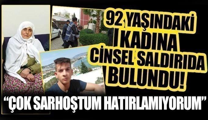 Aydın'daki cinayette korkunç ayrıntı! Öldürdüğü yaşlı kadına cinsel saldırıda bulunmuş!