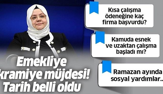Bakan Zehra Zümrüt Selçuk'tan 'Ramazan yardımı' açıklaması