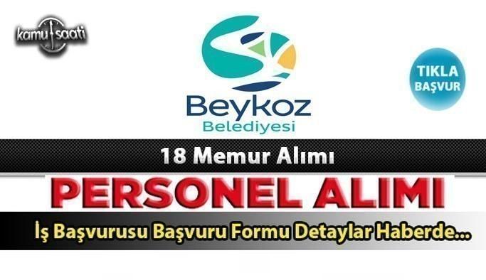 Beykoz Belediyesi personel alımına başladı 18 memur alımı yapacak güncel iş ilanları ve iş başvurusu
