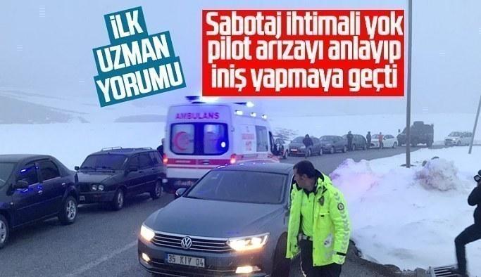 Bitlis'teki helikopter kazasıyla ilgili uzmanlardan dikkat çeken açıklamalar