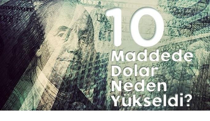 Dolar neden yükseldi? Dolar kaç TL? Euro 10 lirayı geçti Altın 475 lirayı geçti Euro Altın Kaç lira? 21 Mart 2021