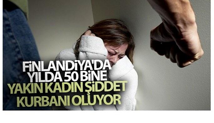 Finlandiya'da yılda 50 bine yakın kadın şiddet kurbanı oluyor