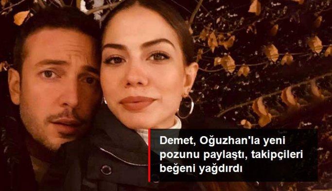 Gözde aşıklar Demet Özdemir ve Oğuzhan Koç'tan yeni fotoğraf geldi