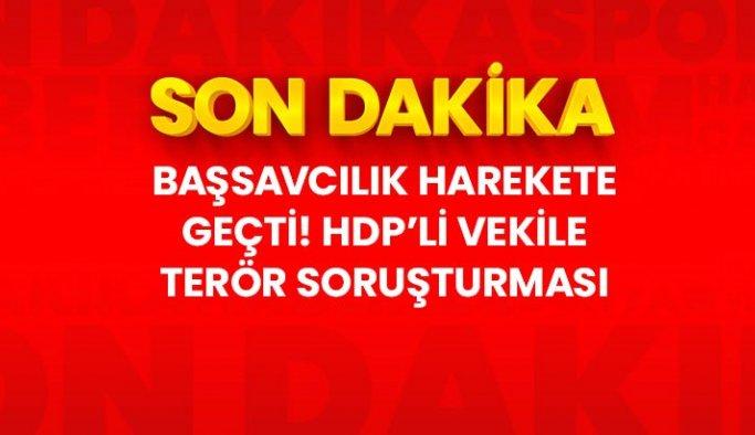 HDP'li vekil Berdan Öztürk hakkında soruşturma başlatıldı