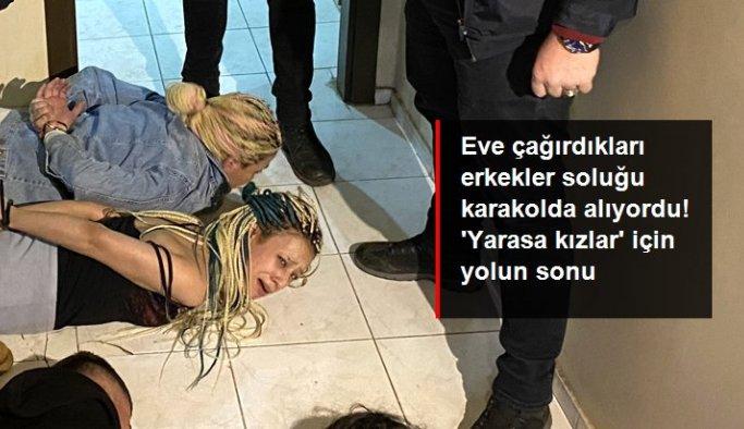 """İlişki vaadiyle çağırdıkları kişileri gasp eden çeteye """"Yarasa Kız"""" operasyonu: 115 gözaltı"""