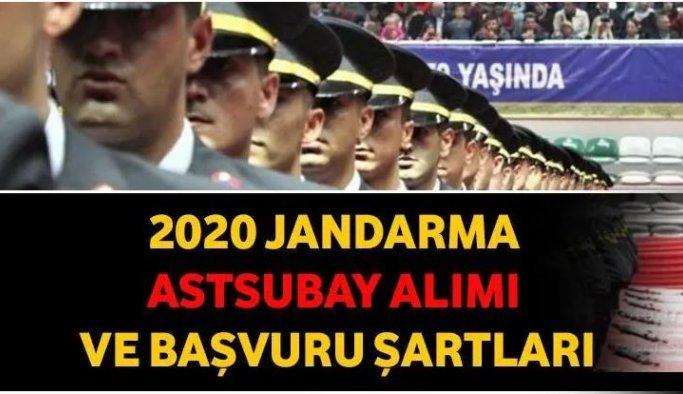 Jandarma astsubay alımı başvuru tarihi belli oldu: İşte başvuru şartları…