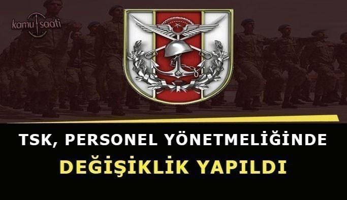Jandarma Genel Komutanlığı ve Sahil Güvenlik Komutanlığı Personel Yönetmeliğinde Değişiklik 2021