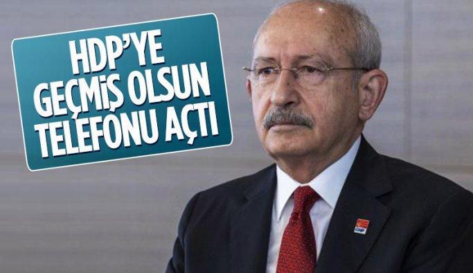 Kemal Kılıçdaroğlu'ndan HDP'ye geçmiş olsun telefonu