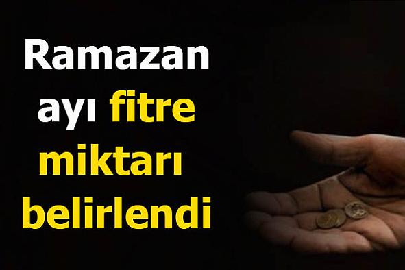 2021 yılı diyanet Ramazan ayı fitre miktarı belirledi