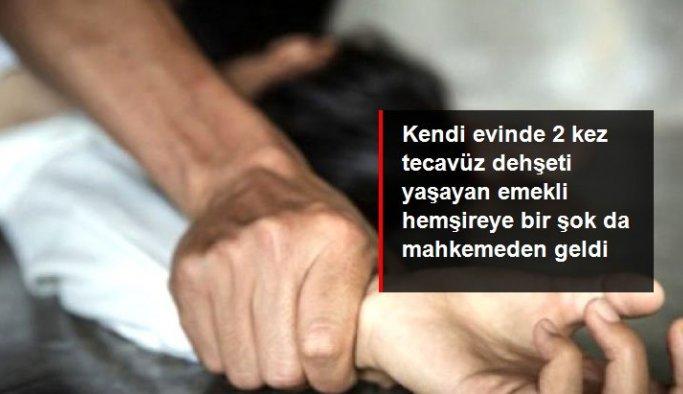Samsun'da emekli hemşireye iki kez tecavüz ettiği iddiasıyla tutuklu bulunan sanık beraat etti
