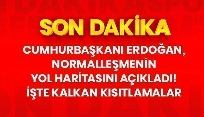 Son Dakika: Cumhurbaşkanı Erdoğan, kademeli normalleşmenin ele alındığı Kabine toplantısı sonrası açıklama yapıyor
