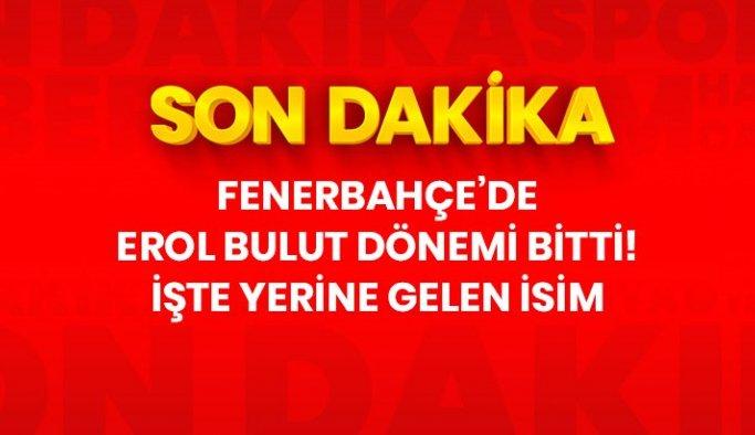 Son Dakika: Fenerbahçe Erol Bulut ile yollarını ayırdı