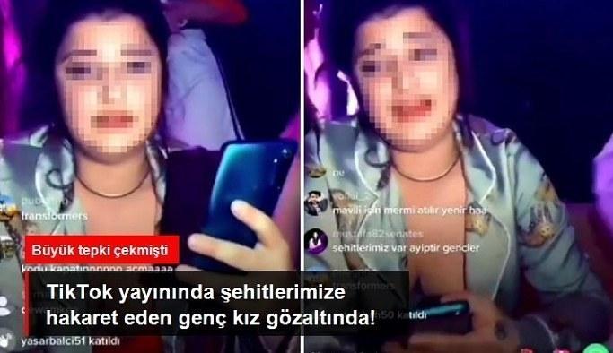Sosyal medyada şehitlerimize hakaret eden genç kız gözaltına alındı