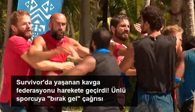 Survivor'da yaşanan kavga federasyonu harekete geçirdi! İsmail Balaban'a 'bırak gel' çağrısı