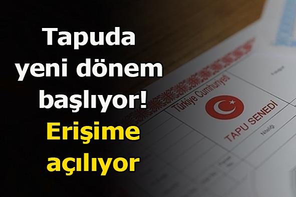 Tapuda yeni dönem başlıyor! Güzel haberi Erdoğan duyurdu...