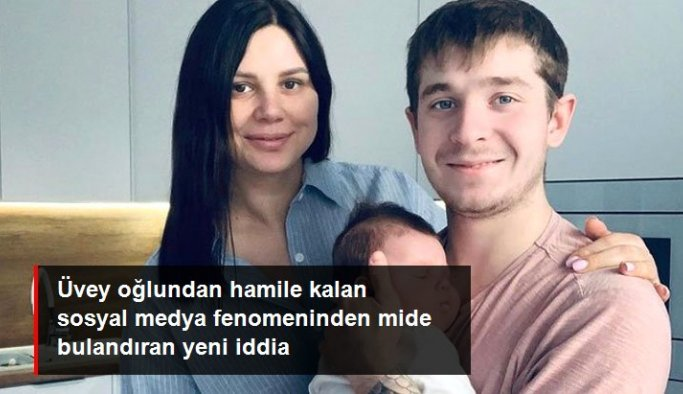 Üvey oğlundan hamile kalan sosyal medya fenomeni ikinci kez anne olmak istiyor