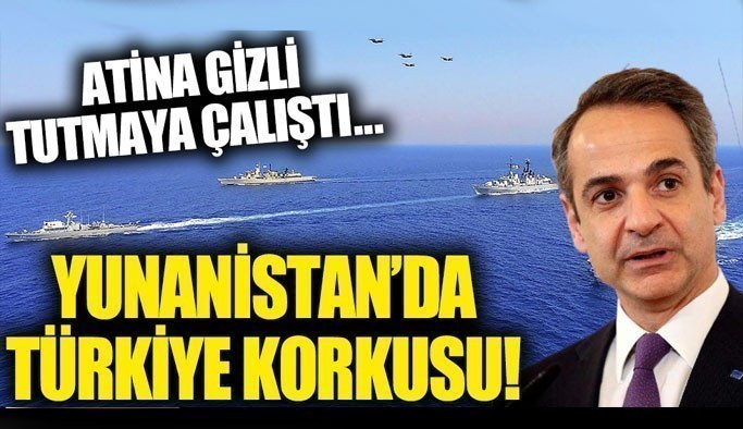 Yunanistan'da Türkiye korkusu!