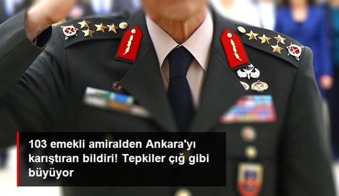 103 emekli amiralden Montrö Boğazlar Sözleşmesi'yle ilgili Ankara'yı karıştıran bildiri! Tepkiler çığ gibi büyüyor