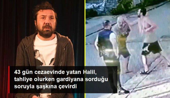 43 gün cezaevinde yatan Halil Sezai'den tahliye olurken gardiyana ilginç soru: Domatesi nereden alıyorsunuz?