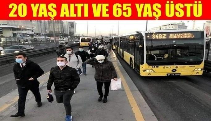 65 yaş üstü sokağa çıkma yasağı: İşte yasağın olduğu iller ve sokağa çıkma saatleri..