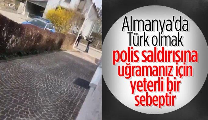 Almanya'da polis, 66 yaşındaki Türk'ü silahla yaraladı