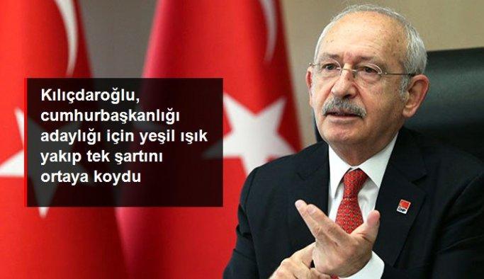 CHP lideri Kılıçdaroğlu: Millet İttifakı ortak karar alırsa cumhurbaşkanı adayı olurum