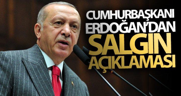 Cumhurbaşkanı Erdoğan'dan önemli salgın açıklamaları!