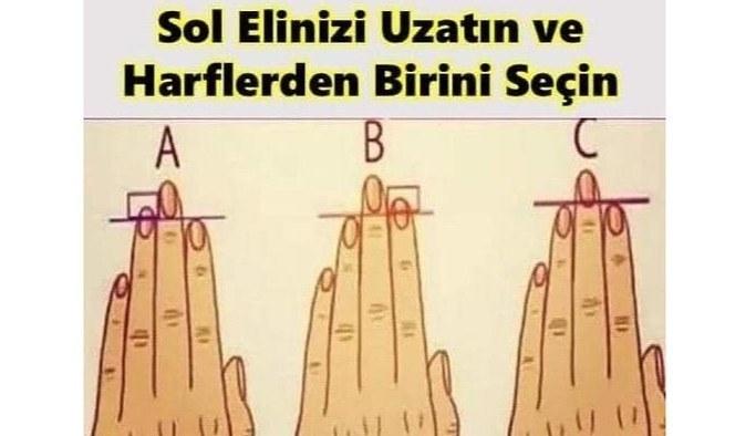 Elinizdeki Parmaklarınızın Tipine Göre Karakter Analizi