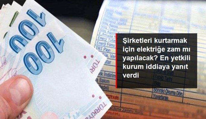"""EPDK, """"elektriğe patron kurtarma zammı"""" iddialarını yalanladı"""