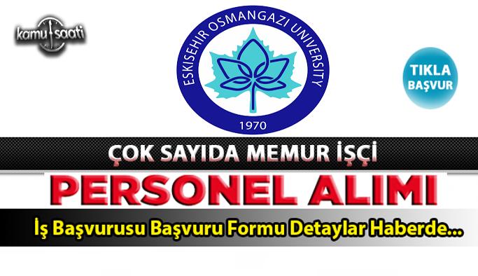 Eskişehir Osmangazi Üniversitesi sözleşmeli 43 sağlık personeli alacak