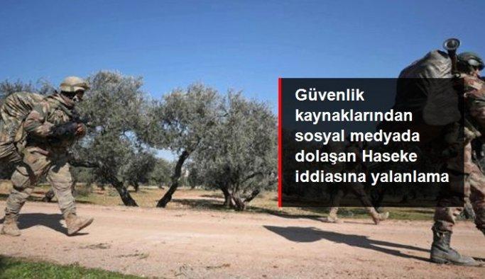 Güvenlik kaynakları, Haseke'de şehit ve yaralıların olduğu iddiasını yalanladı