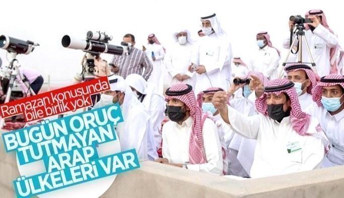 Hilali göremeyen Arap ülkeleri var