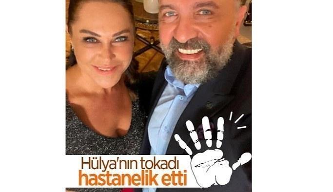 Hülya Avşar, tokat attığı Ertuğrul Postoğlu'nun çenesini çıkardı