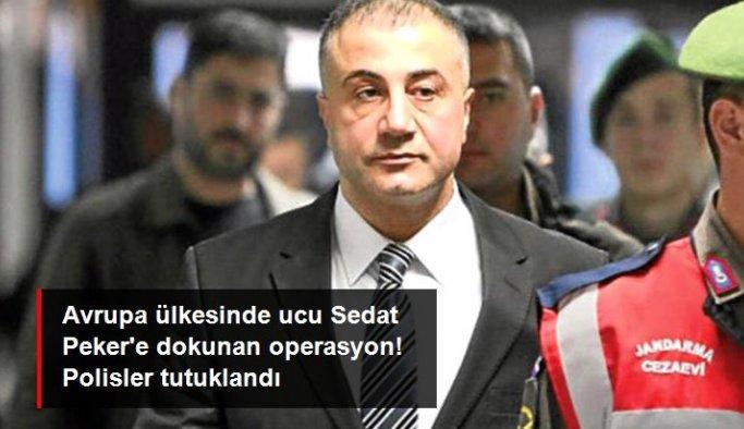 Kuzey Makedonya'da Sedat Peker'e de sahte kimlik düzenleyen polis şebekesine operasyon yapıldı