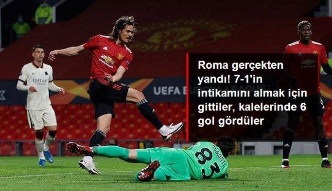 Manchester United'dan 7-1'in intikamını almak için taraftarına söz veren Roma, bu kez kalesinde 6 gol gördü