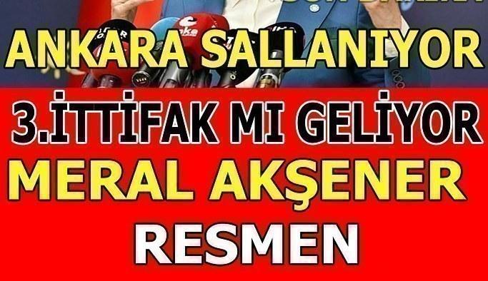 Meral Akşener'den 'üçüncü ittifak' açıklaması! 3. İttifak hangi partilerden oluşacak?