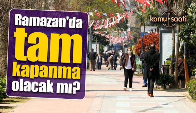 Ramazan'da tam kapanma olacak mı? Tüm gözlerin çevrildiği Bilim Kurulu toplandı