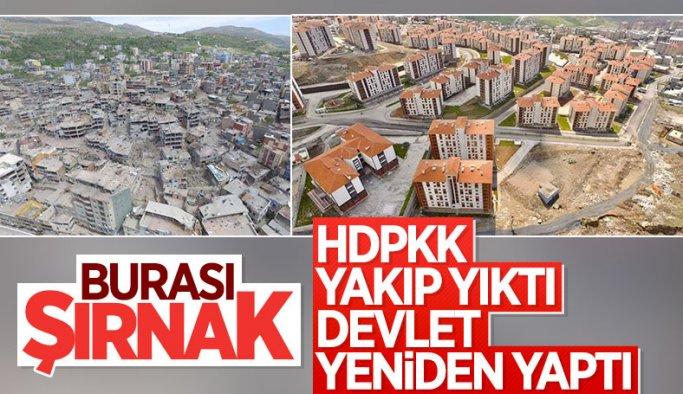 Terör mağduru Şırnaklılar yeni evlerine kavuştu