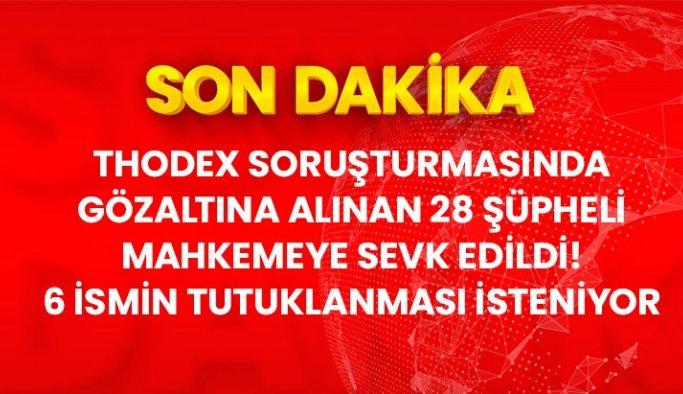 Thodex soruşturmasında 62 kişiden 6'sı tutuklama talebiyle mahkemeye sevk edildi