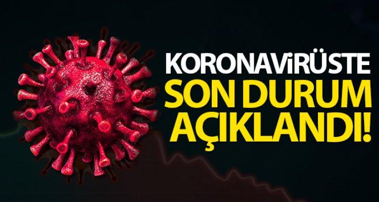 14 Mayıs Cuma Korona virüs Tablosu! Vaka Sayısı DİKKAT ÇEKTİ!