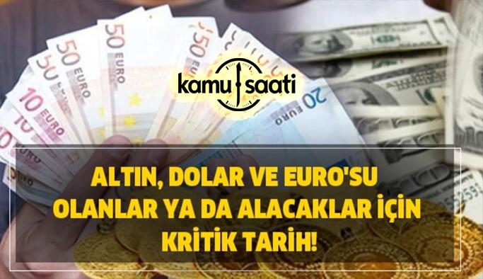 16 Mayıs Pazar 2021 Altın Dolar ve Euro Fiyatları Güncel! Borsa Dolar Euro Altın yükselecek mi?