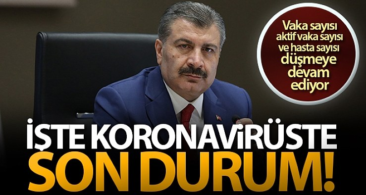 1 Haziran Salı Korona virüs Tablosu, Yasaklar devam ediyor!