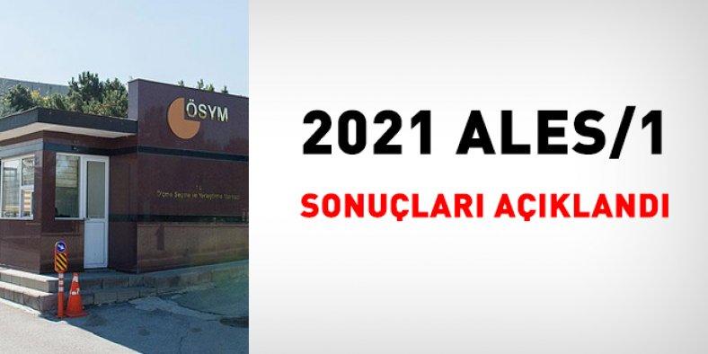 2021 ALES/1 sonuçları açıklandı