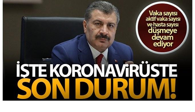 23 Mayıs Pazar Korona virüs Tablosu, Yasaklar devam ediyor!