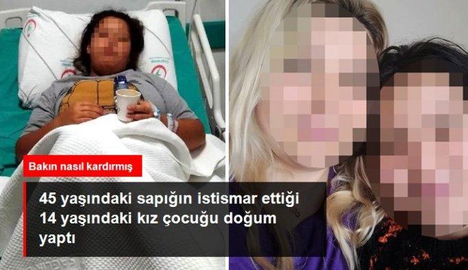 45 yaşındaki sapığın istismar ettiği 14 yaşındaki kız çocuğu doğum yaptı