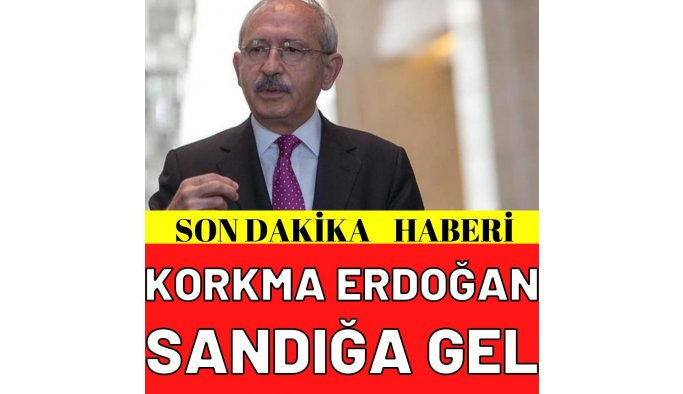 """Akşener'le ilgili """"Daha neler olacak neler"""" diyen Erdoğan'a, Kılıçdaroğlu'ndan tepki: Sandığı getir sandığı!"""