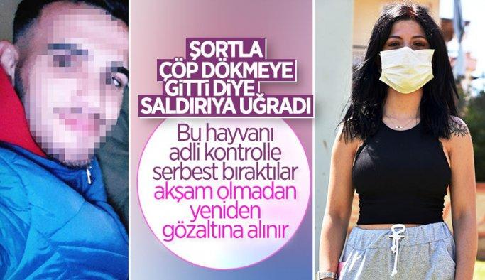 Antalya'da sahur vakti saldırıya uğrayan Elif: Ceza alsın istiyorum