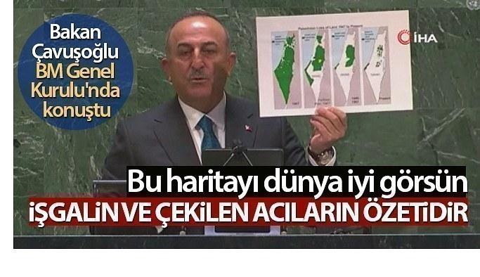 Bakan Çavuşoğlu, BM Genel Kurulu'nda konuştu